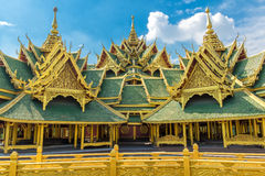 Pavilion of the Enlightened, Ancient Siam Royalty Free Stock Photos