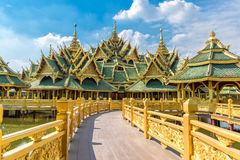 Pavilion of the Enlightened, Ancient Siam. Formerly known as Ancient City Royalty Free Stock Photo