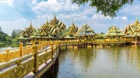 Pavilion of the Enlightened, Ancient Siam Royalty Free Stock Image