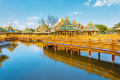 Pavilion of the Enlightened Royalty Free Stock Photos