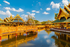 Pavilion of the Enlightened. In Thailand Stock Photography