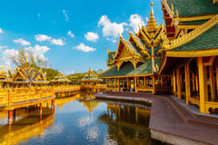 Pavilion of the Enlightened in Thailand. Pavilion of the Enlightened at Ancient Siam in  Thailand Royalty Free Stock Image