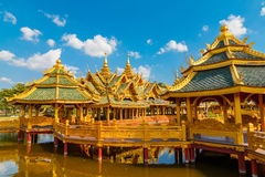 Pavilion of the Enlightened in Thailand. Pavilion of the Enlightened at Ancient Siam in  Thailand Stock Image