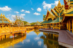 Pavilion of the Enlightened in Thailand Stock Photography