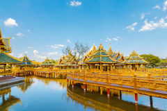 Pavilion of the Enlightened in Thailand Stock Images