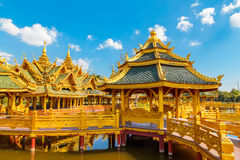 Pavilion of the Enlightened in Thailand Stock Image