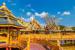 Pavilion of the Enlightened in Thailand Stock Photo