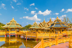 Pavilion of the Enlightened in Thailand Royalty Free Stock Photography