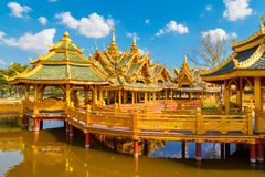 Pavilion of the Enlightened in Thailand. Pavilion of the Enlightened in Bangkok, Thailand Stock Image