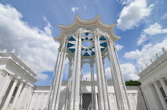 Pavilion at the Exhibition Centre VDNH (VVC), Moscow Royalty Free Stock Photography