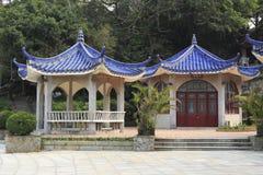 Pavilion of the famous gulangyu scene Stock Images