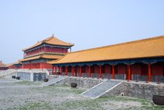 Pavilion at Forbidden City Royalty Free Stock Image