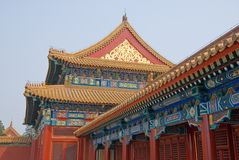 Pavilion of the Forbidden City Stock Photo