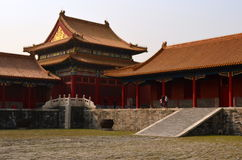 Pavilion, Forbidden City, Beijing, China Royalty Free Stock Image