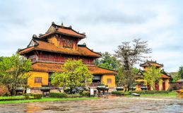 Pavilion at the Forbidden City in Hue, Vietnam. Pavilion at the Forbidden City in Hue. UNESCO world heritage in Vietnam royalty free stock photography
