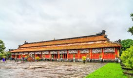 Pavilion at the Forbidden City in Hue, Vietnam. Pavilion at the Forbidden City in Hue. UNESCO world heritage in Vietnam stock photography