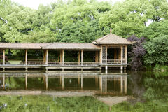 Pavilion in a garden Stock Photography