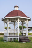 Pavilion in the garden. Stock Image