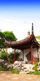 Pavilion in Garden of Fisherman in Suzhou, China Royalty Free Stock Images