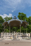Pavilion. Garden pavilion Place the President Wilson. City of  Dijon, Bourgogne Franche-Comte province Stock Photos