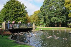 Pavilion Gardens, Buxton. Royalty Free Stock Images
