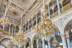 Pavilion Hall, Hermitage Museum, St. Petersburg, Russia Stock Photography