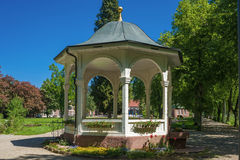 Pavilion in the health resort park in Bad Liebenzell Stock Photo