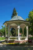 Pavilion in the health resort park in Bad Liebenzell Stock Photography