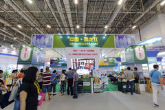 Pavilion of heilongjiang province participate in the exhibition Stock Photography