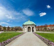 Pavilion in Hofgarten. Munich, Germany Royalty Free Stock Images