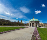 Pavilion in Hofgarten. Munich, Germany Stock Photos