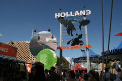 Pavilion Holland Expo Royalty Free Stock Photography