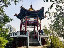 Pavilion. Huairou beijing pavilion afternoon lovely day happy vacation great fun trail relax beautiful wonderful Stock Photos