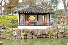 Pavilion in Humble Administrator's Garden Royalty Free Stock Photo