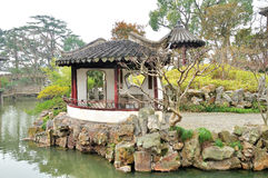 Pavilion in Humble Administrator's Garden Royalty Free Stock Image