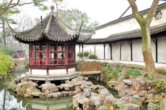 Pavilion in Humble Administrator's Garden Stock Images