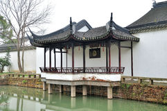 Pavilion in Humble Administrator's Garden Royalty Free Stock Photography