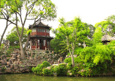 Pavilion in Humble Administrator's Garden in Suzhou, China Stock Images