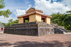 Pavilion in Imperial Minh Mang Tomb in Hue,  Vietnam Royalty Free Stock Images