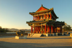 Free Pavilion In The Summer Palace Royalty Free Stock Photo - 3925105