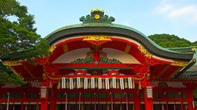 Pavilion of Inari's shrine in Kyoto. Stock Photos