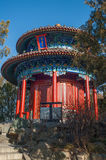 The pavilion in Jingshan park Royalty Free Stock Images