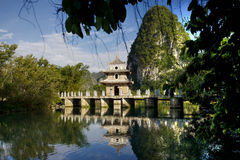 Pavilion in Jingxi, Guangxi, China Stock Photography