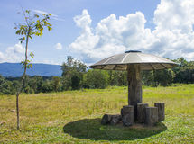 Pavilion in Khao Yai National Park. Stock Photography