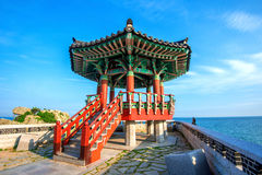 Pavilion in korea. Stock Images