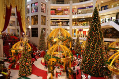Pavilion Kuala Lumpur. Christmas festival at the Pavilion, the luxury shopping mall in Kuala Lumpur, Malaysia Stock Images