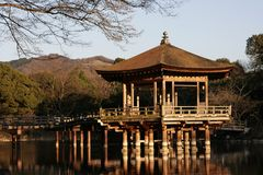 Pavilion on a Lake Stock Photography
