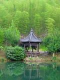 A pavilion at the lake Royalty Free Stock Photo