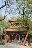 A pavilion in the Lama Temple in Beijing (China) Royalty Free Stock Photo