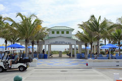 Pavilion in Lauderdale By The Sea Royalty Free Stock Photography